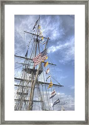 Flagship Niagara Framed Print