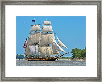 Flagship Niagara Framed Print by Rodney Campbell
