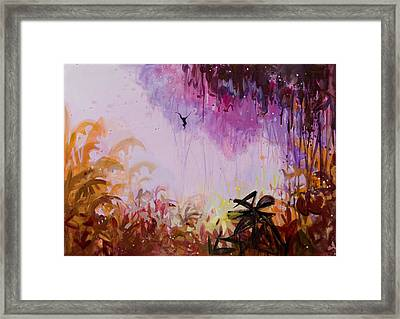 Flamboyant Jungle 2 Framed Print by Susie Hamilton