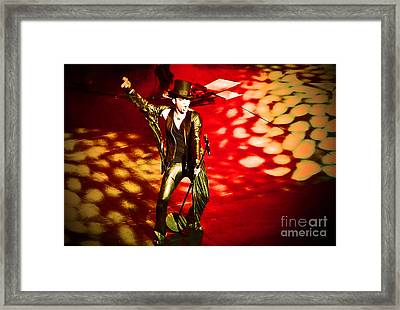 Showman Framed Print
