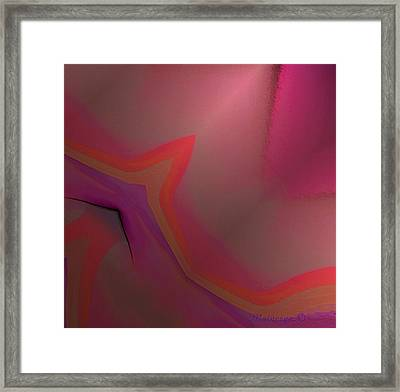 Flame Framed Print by Ines Garay-Colomba