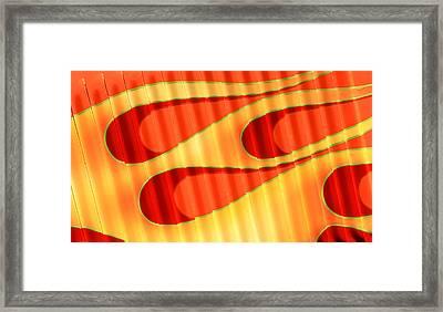 Flame Me Framed Print by Joe Kozlowski