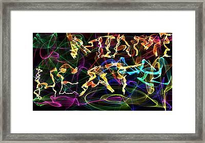 Flame Miami Heat Framed Print by Mc gyver  Felicitas