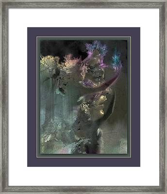 Flame Of Beauty Framed Print by Freddy Kirsheh