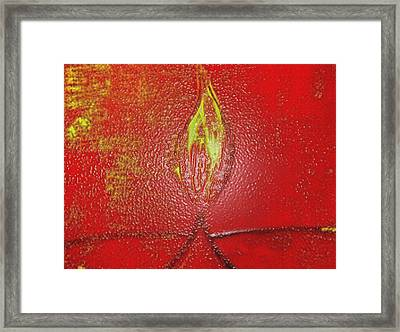 Flame Of Deepawali Framed Print