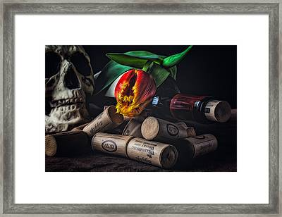 Flame Of Desire Framed Print
