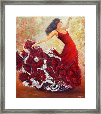 Flamenco 1 Framed Print