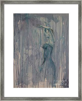 Flamenco 3 Framed Print by Jos Van de Venne