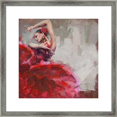 Flamenco 53 Framed Print