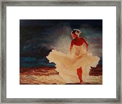 Flamenco Allure Framed Print