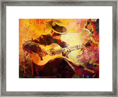 Flamenco Dancer 028 Framed Print