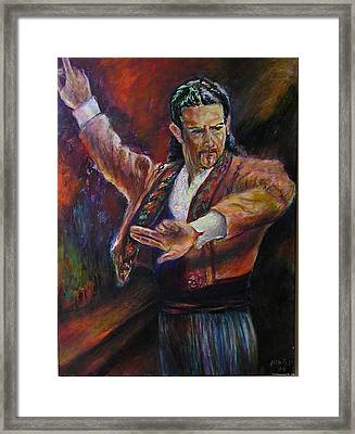 Flamenco Dancer Xx Framed Print