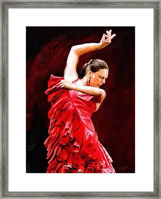 Flamenco Framed Print by James Shepherd