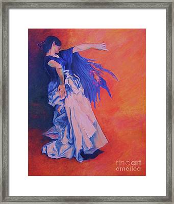 Flamenco-john Singer-sargent Framed Print
