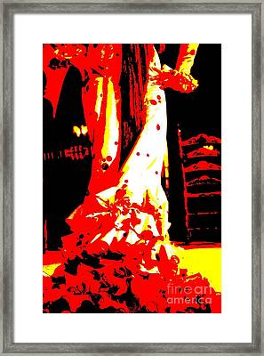 Flamenco Passion Framed Print by Sophie Vigneault