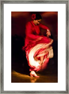 Flamenco Series 1 Framed Print by Catherine Sobredo