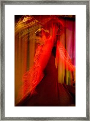 Flamenco Series 10 Framed Print by Catherine Sobredo