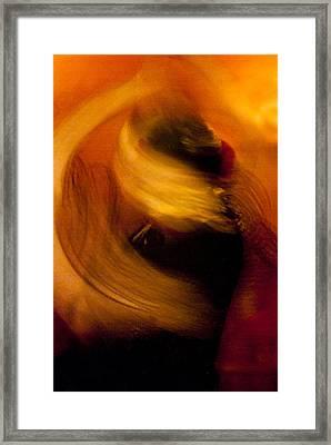 Flamenco Series 16 Framed Print by Catherine Sobredo