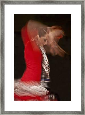 Flamenco Series 3 Framed Print by Catherine Sobredo