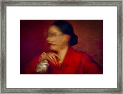 Flamenco Series 4 Framed Print by Catherine Sobredo