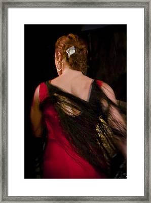 Flamenco Series 6 Framed Print