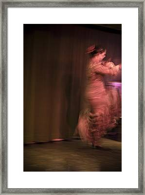 Flamenco Series 8 Framed Print by Catherine Sobredo