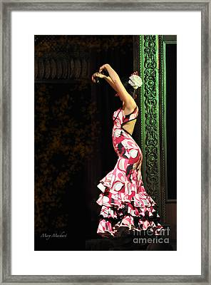 Flamenco Series #8 Framed Print by Mary Machare