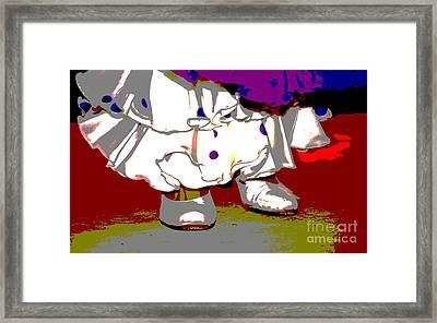 Flamenco Framed Print by Sophie Vigneault