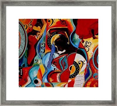 Flamenco Framed Print by Vel Verrept