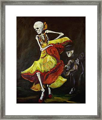 Flamenco Vi Framed Print