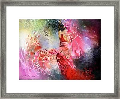 Flamencoscape 13 Framed Print