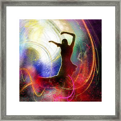 Flamencoscape 16 Framed Print by Miki De Goodaboom
