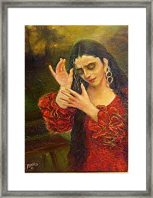 Flamenfo Girl 2 Framed Print