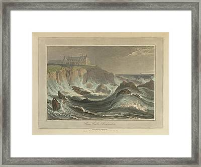 Flames Castle Framed Print by British Library