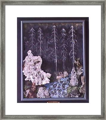 Flames To New Opportunities #21 Framed Print by Tanna Lee M Wells