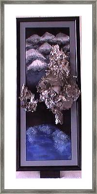 Flames To New Opportunities #3b Framed Print by Tanna Lee M Wells