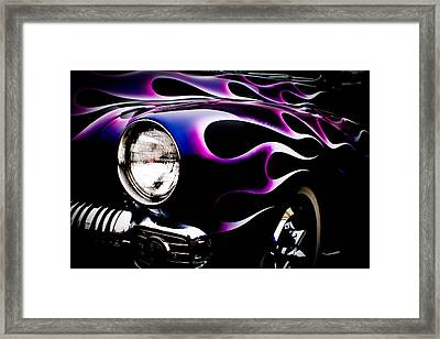 Flaming Classic Framed Print