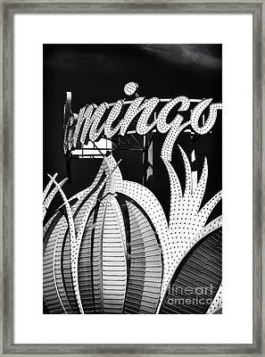 Flamingo Las Vegas Framed Print by John Rizzuto
