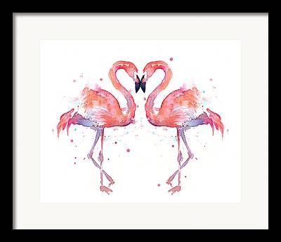 Pink Heart Framed Prints