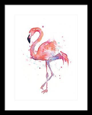 Animal Paintings Framed Prints