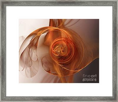 Flamminio Framed Print by Leona Arsenault