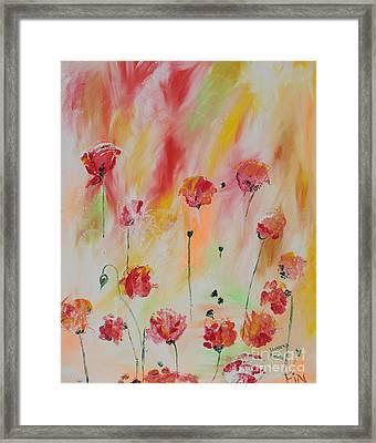 Flanders Field Framed Print by PainterArtist FIN