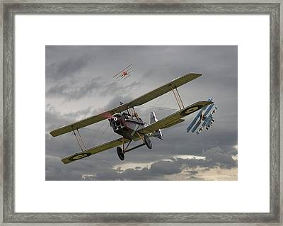 Flander's Skies Framed Print by Pat Speirs