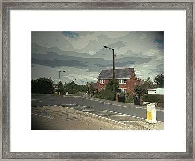 Flanderwell Lane,  Flanderwell Lane, Near To Bramley Framed Print by Litz Collection