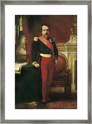 Flandrin, Jean-hippolyte 1809-1864 Framed Print