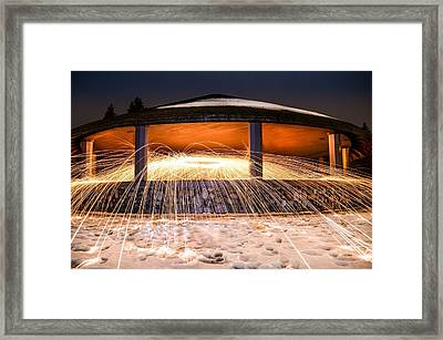 Flare Framed Print by Mark Miller