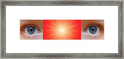 Flash - 1 Framed Print by Philip Ralley