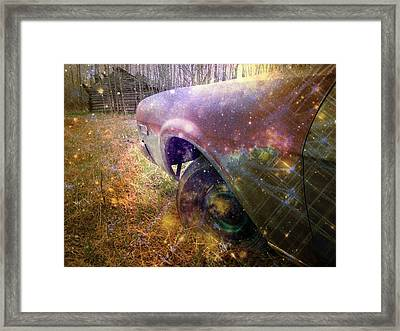 Flashback Framed Print