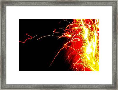 Flashes Of Light Framed Print by Jose Lopez
