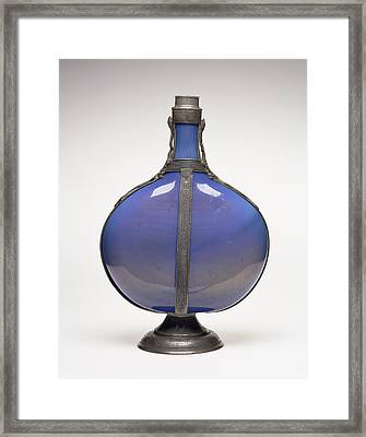 Flask Unknown Façon De Venise, France Possibly Framed Print